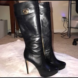 Michael Kors high heeled boots!
